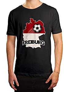Freiburg #2 Premium T-Shirt | Fussball | Fan-Trikot | #jeden-verdammten-Samstag | Herren | Shirt © Shirt Happenz