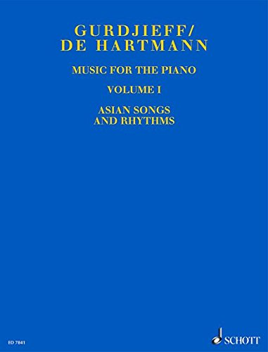 Music for the Piano Vol 1