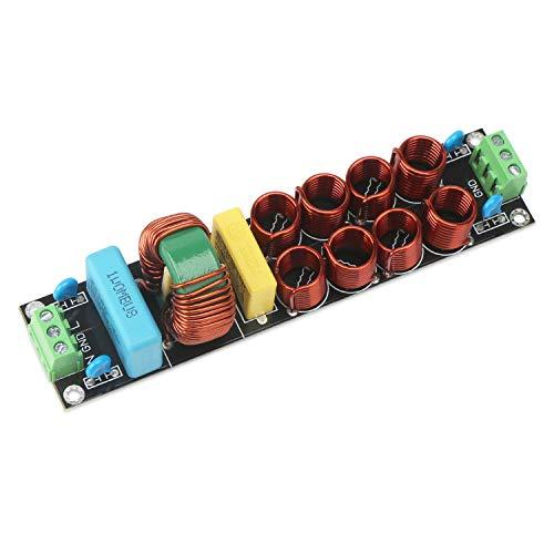Droking Power-Filter-Modul, Power Line Conditioner Hochfrequenz-Hochstrom-AC-EMI-Filter 10A 20A Netzteil Filtermodul Noise Suppressor Board
