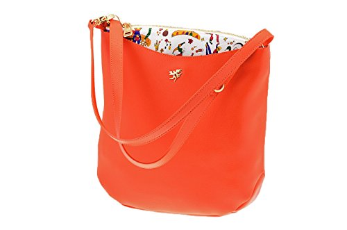 Piero Guidi Hobo Bag Taschen Neu Damen Accessoir. Orange