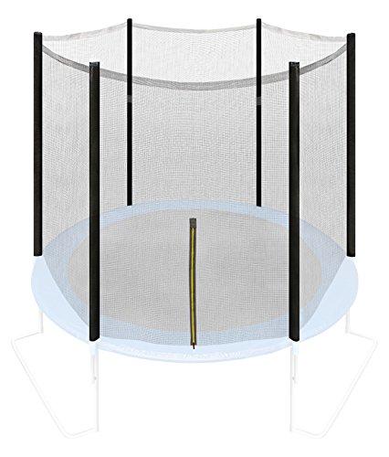 Ultrasport Sicherheitsnetz für Gartentrampolin Ultrasport Jumper Modelle ab Mai 2014, mit Reißverschluss, UV-beständig, 180 cm