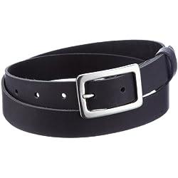 MGM - Cinturón para mujer, talla 90 cm, color Negro