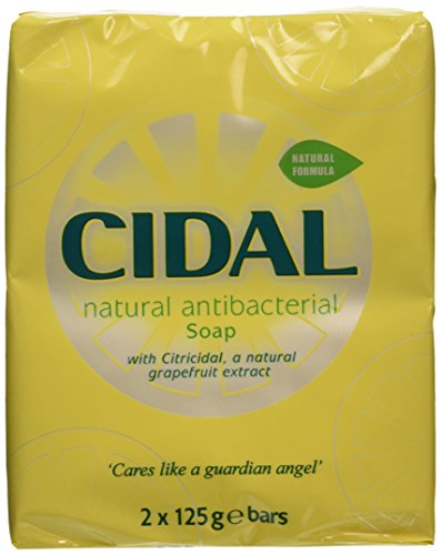 Cidal 250g Natural Antibacterial Soap - Pack of 2