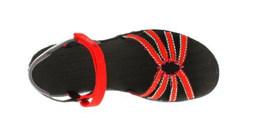 Teva W Kayenta Dream Wave, Sandales femme Rouge (554 Red)