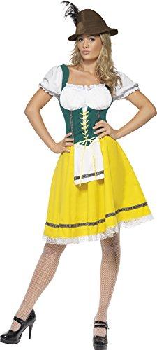 Smiffys - Costume da cameriera dell'Oktoberfest, incl. grembiule, Donna, taglia: M