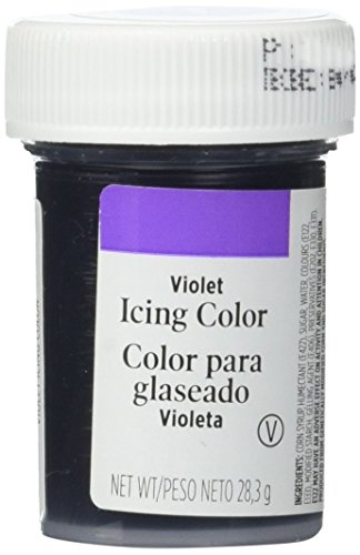 Cake Decorating Gel (Wilton - Gel, Farbe Violet, 28 g)