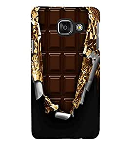 For Samsung Galaxy A7 (2016) choklate ( ) Printed Designer Back Case Cover By CHAPLOOS
