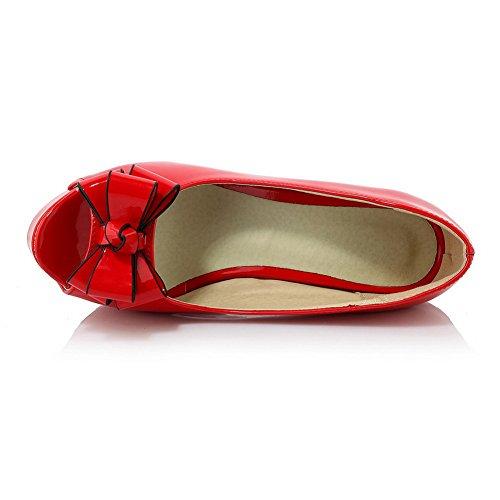 Adee , Damen Sandalen Rot