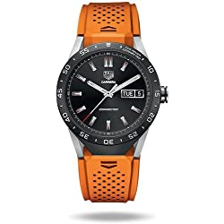 TAG Heuer Connected - Reloj inteligente, de lujo (Android/iPhone), color naranja