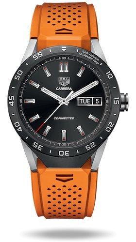 Tag Heuer - Smart Watch Connected (Android/iPhone) (arancione)