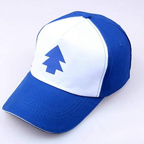 TRGFB Baseball Hat Gravity Falls Cap Adjustable Trucker Caps New Curved Bill Dipper Parent-Child Baseball Hat Cap Fall