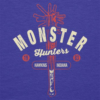 TEXLAB - Monster Hunter Hawkins Indiana - Herren T-Shirt Marine