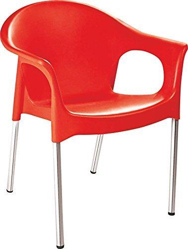 Cello Metallo Chair (Red)