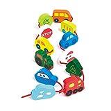 Hape - Enfilar vehículos, juego de bloques (0HPE0905)