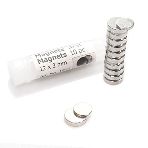 10 x Corsage Magnet Pin Anzug Anstecker Blume Hochzeit