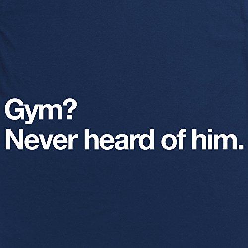 Gym T-Shirt, Herren Dunkelblau
