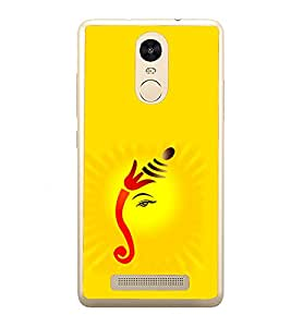 PrintVisa Beautiful Ganesh Idol High Gloss Designer Back Case Cover for Xiaomi Redmi Note 3 :: Xiaomi Redmi Note 3 Pro :: Xiaomi Redmi Note 3 MediaTek