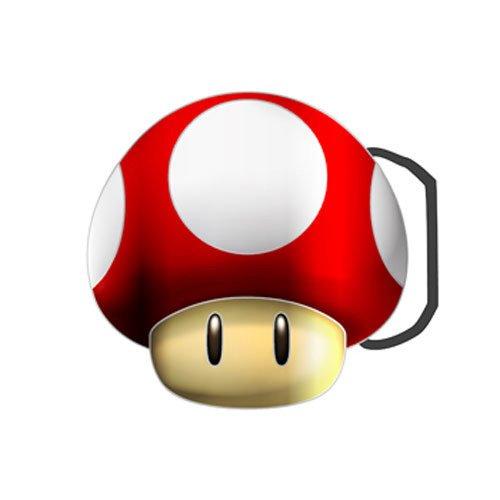 Preisvergleich Produktbild Classic Mushroom Buckle
