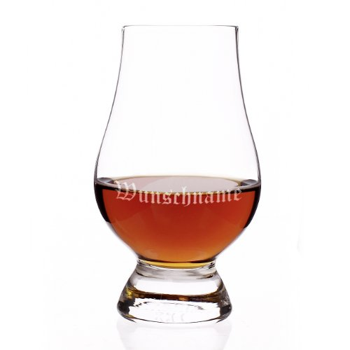 Stölzle Lausitz The Glencairn Glass - Edles Whiskeyglas mit gratis Gravur - Old English - (Glencairn Scotch Glas)