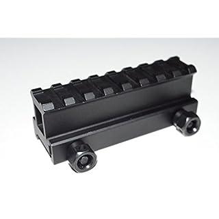 acidtacticalacid Tactical 2,5cm Zoll transparenten Mittelteil High Top Schiene Scope Mount-kurze Länge hi-profile