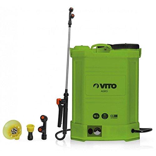 Pulvérisateur à batterie VITO 12V 16L 6 bars max autonomie 4h chargeur inclus Végetaux jardin toitures