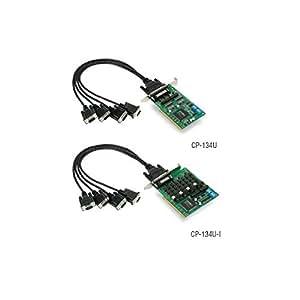 Carte série PCI Universel Moxa - CP-134U-I w/o Cable