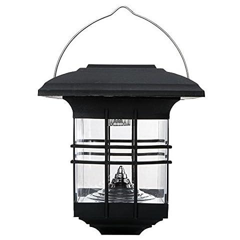 Hanging Solar Lantern Garden Lantern, Solar Power LED Antique Lamp