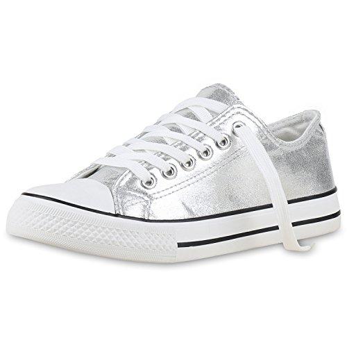 damen-schuhe-sneakers-silber-metallic-39