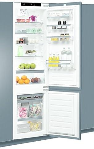 Whirlpool ART 9811/A++ SF Intégré Blanc 228L 80L A++ réfrigérateur-congélateur - réfrigérateurs-congélateurs (Intégré, Bas-placé, A++, Blanc, SN-T,