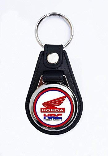 Qualité Premium faux cuir Motocycle Honda porte-clés/porte clés