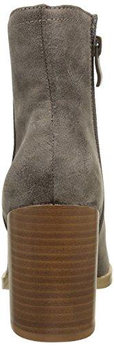 Buffalo Damen B006a-58 P2066c Pu Kurzschaft Stiefel Grau (Taupe 01)