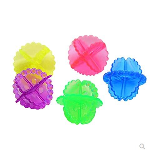 LIULINAN Wäsche Ball Große Magische Wäsche Kugel Starke Dekontamination Und Wund Schutz Kugel Reinigung Ball Waschmaschine Ball-Wasch Ball 15 Packung
