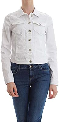 Only Onlnew Westa Detail Jacket White Noos, Chaqueta de Mezclilla para Mujer, Talla Única