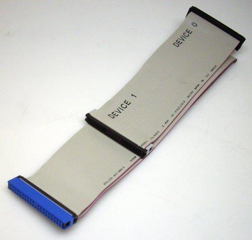 IDE ATA Flachbandkabel UDMA 66 / 100 / 133 40 cm 3 Abgriffe 40-polig HDD Kabel