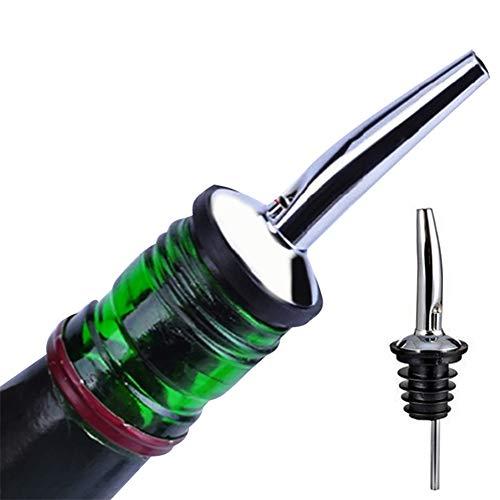 Lauge Kit (Romote EIN Wein Ölsprühdüse Wasser Edelstahlfiasche Ausgießer Design-Flasche silbernen Krug Weinkork Innovatives Familie Restaurants und Cafés)