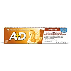 A & D Diaper Rash Ointment & Skin Protectant, Original 1.5 oz by A & D