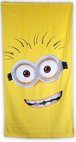 Toalla amarilla de playa, 70cm x 140cm