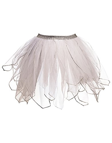 54weiß Fairy Tutu Kostüm ()