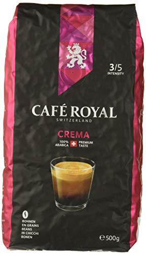 Café Royal Café en Grains Crema 500g, Intensité 3/5