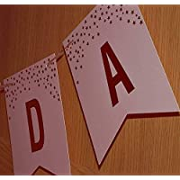 Happium - Happy Birthday Pattern Bunting Banner
