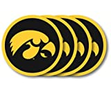 Iowa Hawkeyes Coaster Set – 4 Pack