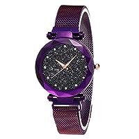 DANMEI Women Quartz Watch Luxury Wrist Watches for Women Crystal Starlight Dial Waterproof Watch Waterproof Glitter Elegant Classic