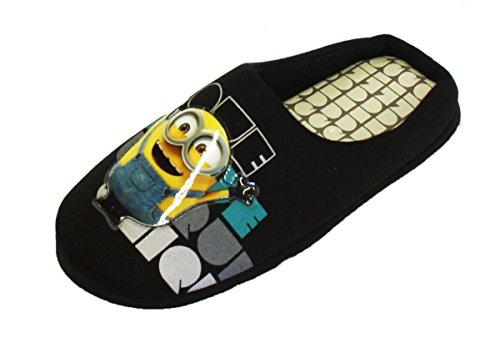 Herren Hausschuhe Homer Simpson Star Wars Minion Pantoffeln Sandalen Ohne Bügel Gepolstert Duff Neuheit Schwarz - MINUBOB