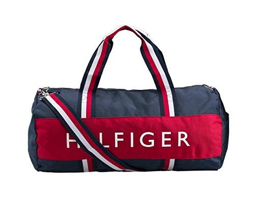 Tommy Hilfiger - Bolsa de viaje  Blue, Rot, Weiß