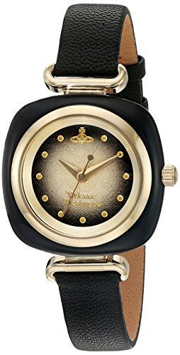 Vivienne Westwood–Reloj de Cuarzo para Mujer con Esfera analógica y Negro Correa de Piel vv141bkbk
