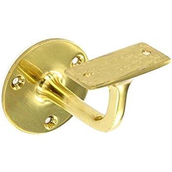 Securit Brass Handrail Bracket 150g 63mm