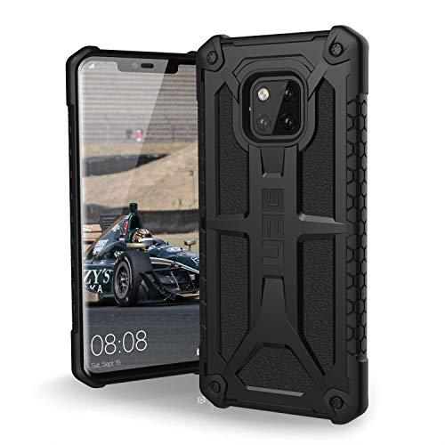 Urban Armor Gear Monarch Custodia protettiva Cover con standard militare americano case per Huawei Mate 20 Pro - nero [Compatibile con il Qi wireless, angoli rinforzati] - 511311114040