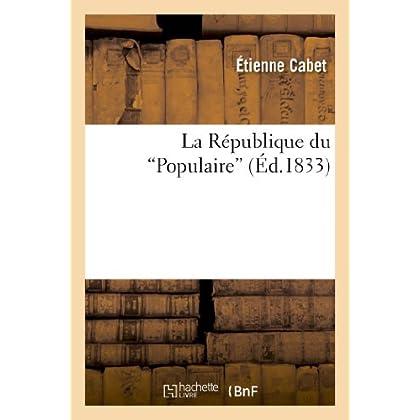 La République du 'Populaire'