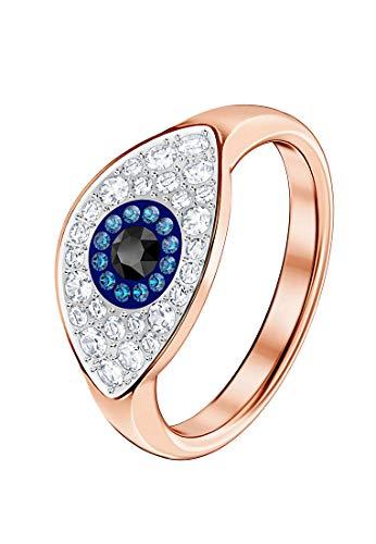 Swarovski Damen-Ringe Edelstahl Kristall '- Ringgröße 52 5441193