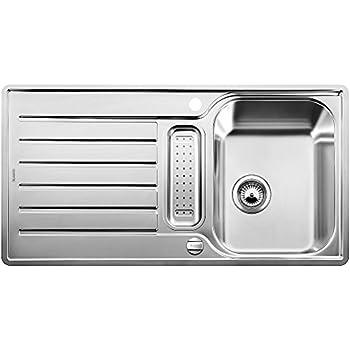 Blanco Classic Pro 5 S-IF Küchenspüle, Edelstahl Seidenglanz, 516849 ...